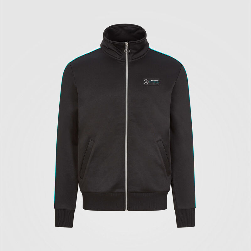 MAPM FW MENS TRACK SWEAT JACKET - black