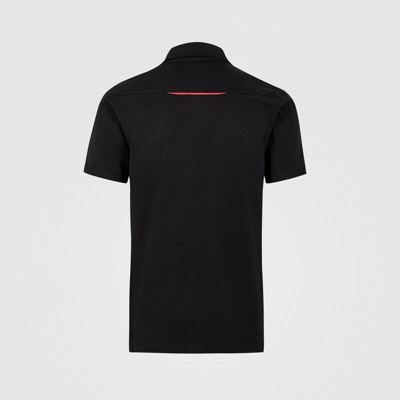 PORSCHE FW MENS POLO - black