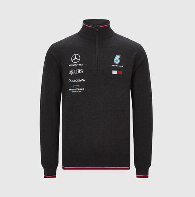 2019 Team 1/2 Zip Kintted Jumper