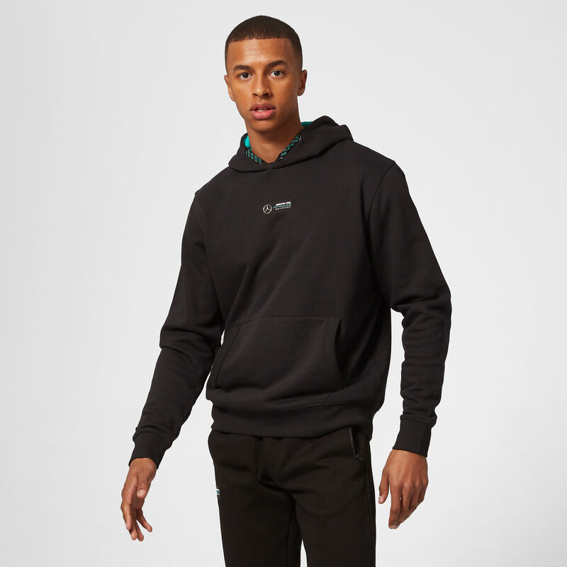 MAPM FW MENS LEWIS #44 HOODED SWEAT - black