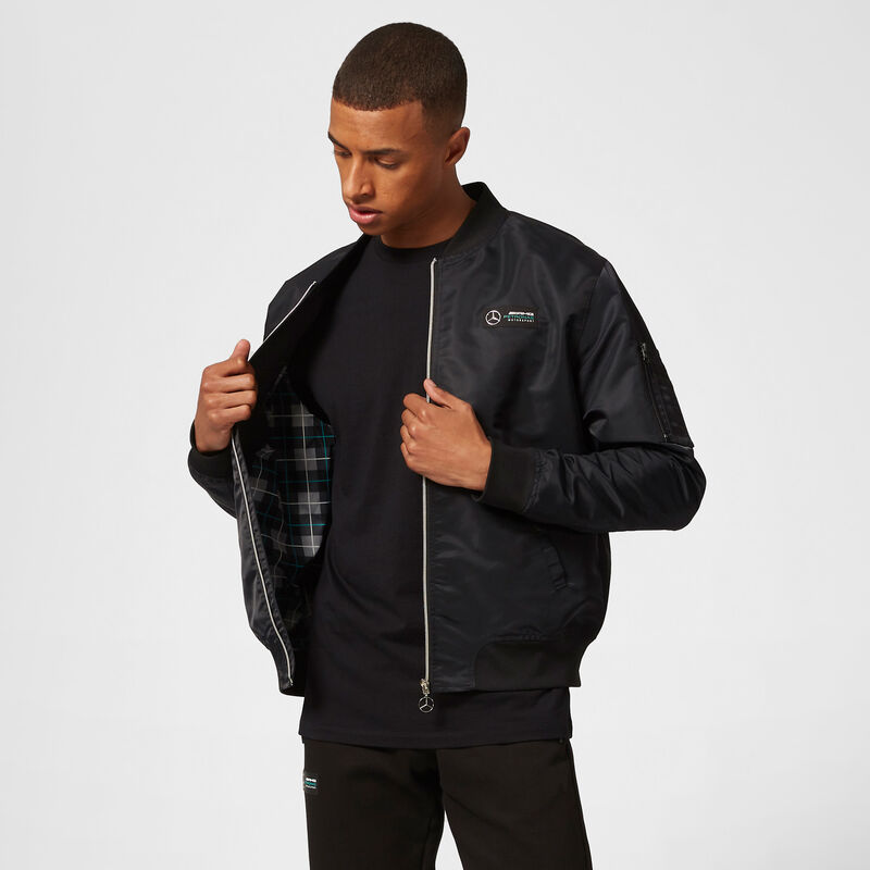 MAPM FW MENS BOMBER JACKET - black