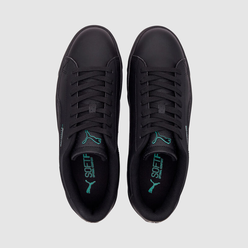 MAPM PU COURT BREAKER DERBY TRAINERS - black