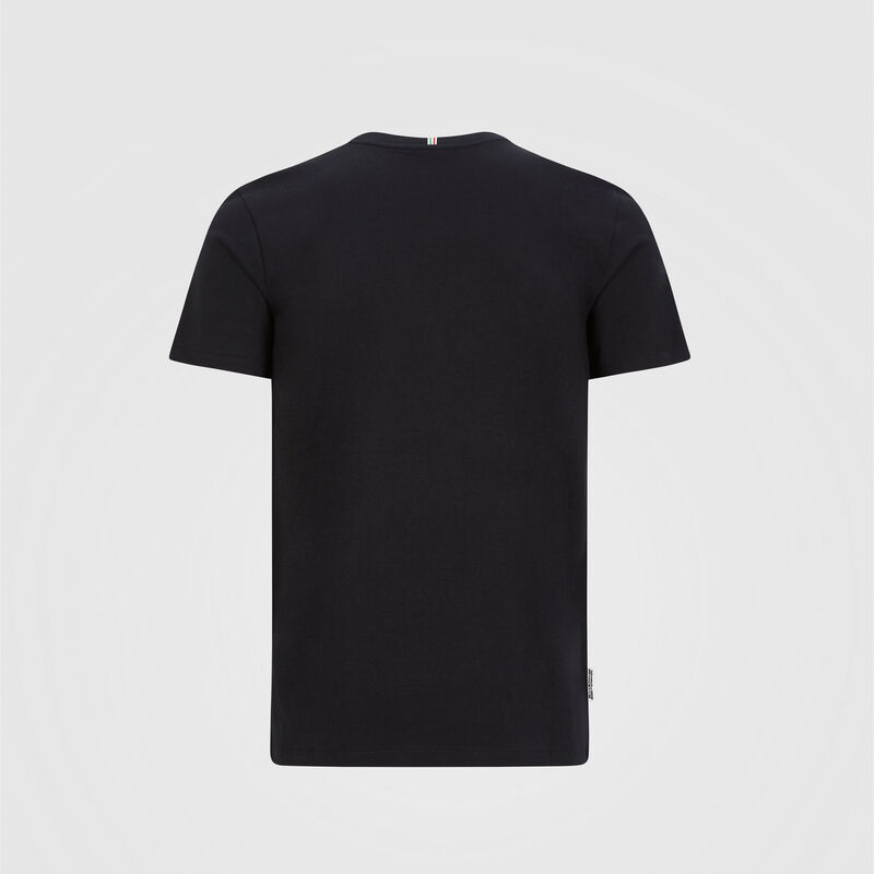 SF FW MENS ITALIAN FLAG TEE - black
