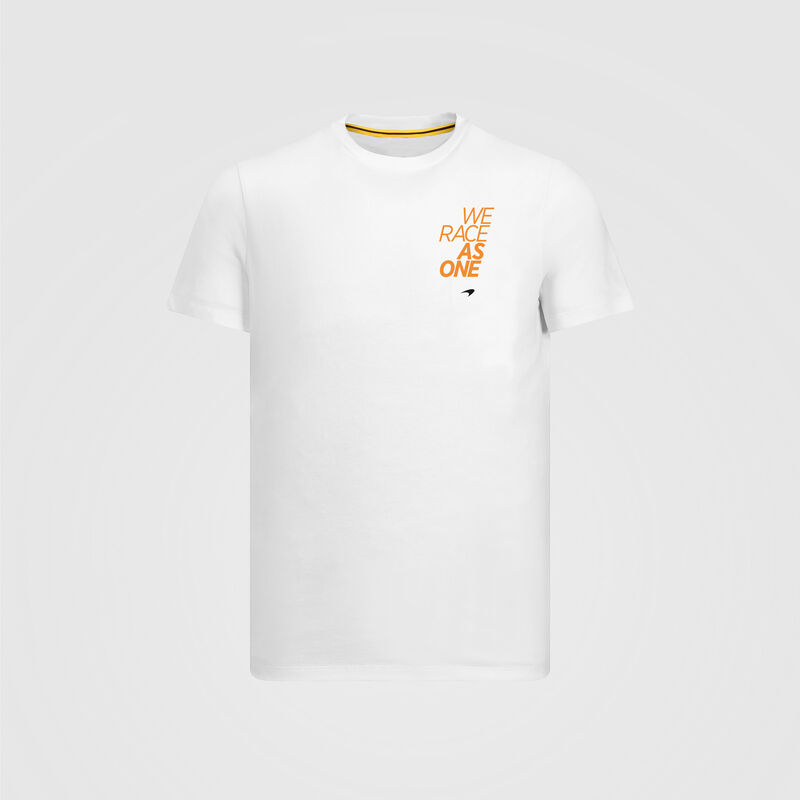 MCLAREN FW RACE AS ONE TEAM TEE - white