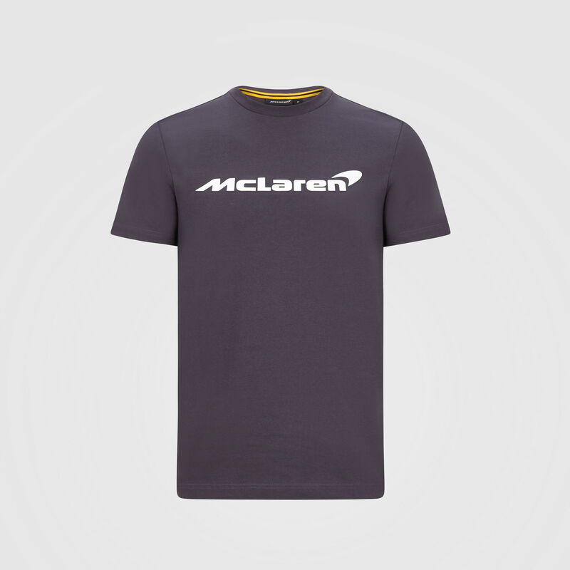 MCLAREN FW KIDS ESSENTIAL TEE - Antracit