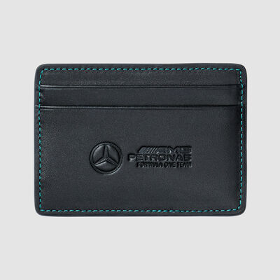 Debossed Logo Card Holder