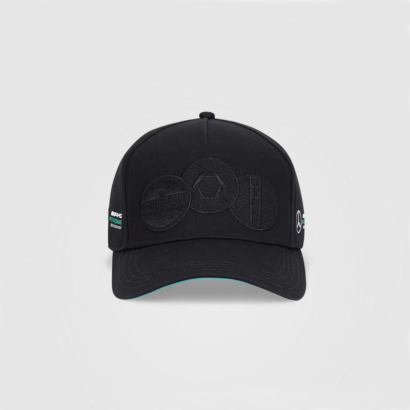 MAPM FW BADGE CAP - black