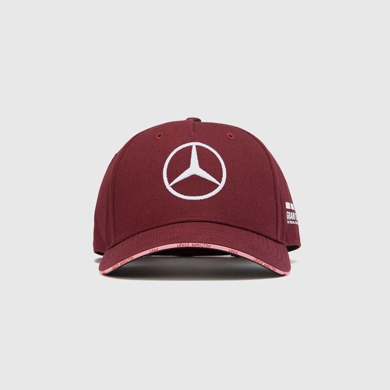 MAPM RP SE HAMILTON SINGAPORE CAP - Wine-Red