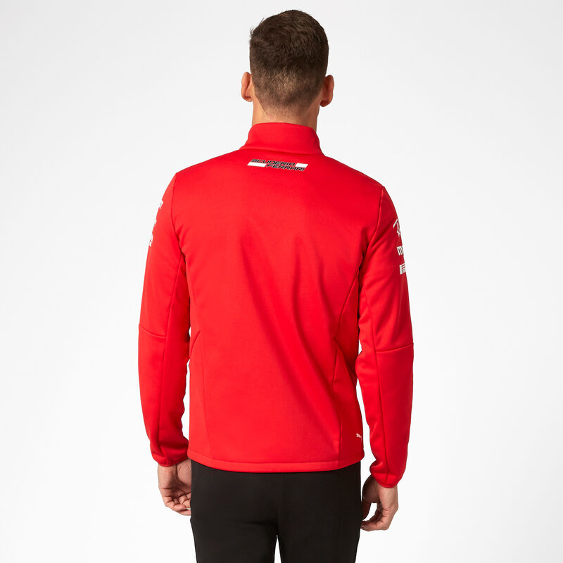 SF RP MENS TEAM SOFTSHELL JACKET - red