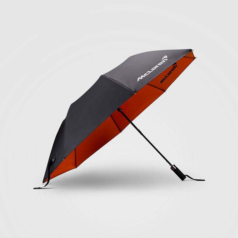 MCLAREN FW COMPACT UMBRELLA - Antracit