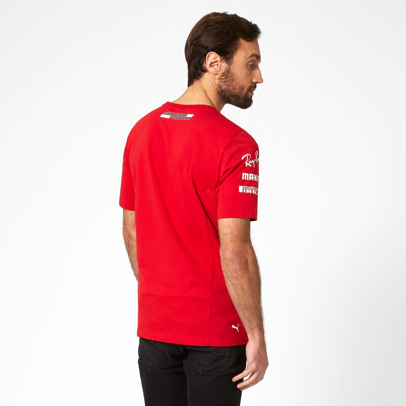 SF RP MENS TEAM TEE - red