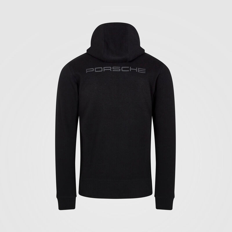 PORSCHE FW MENS HOODED SWEAT  - black