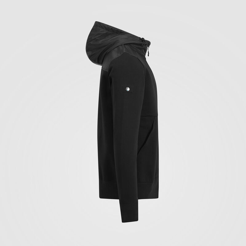 MAPM FW MENS HOODED SWEAT JACKET  - black