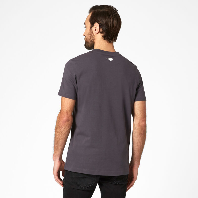 MCLAREN FW MENS ESSENTIALS TEE - Antracit