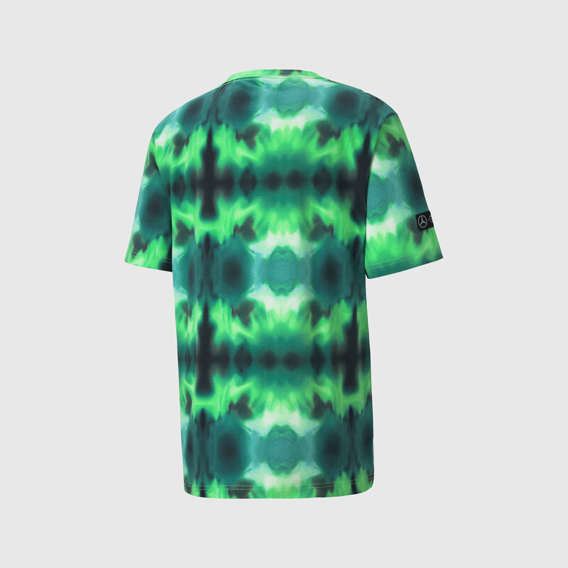 MAPM PU LS MENS STREET GRAPHIC TEE - lime