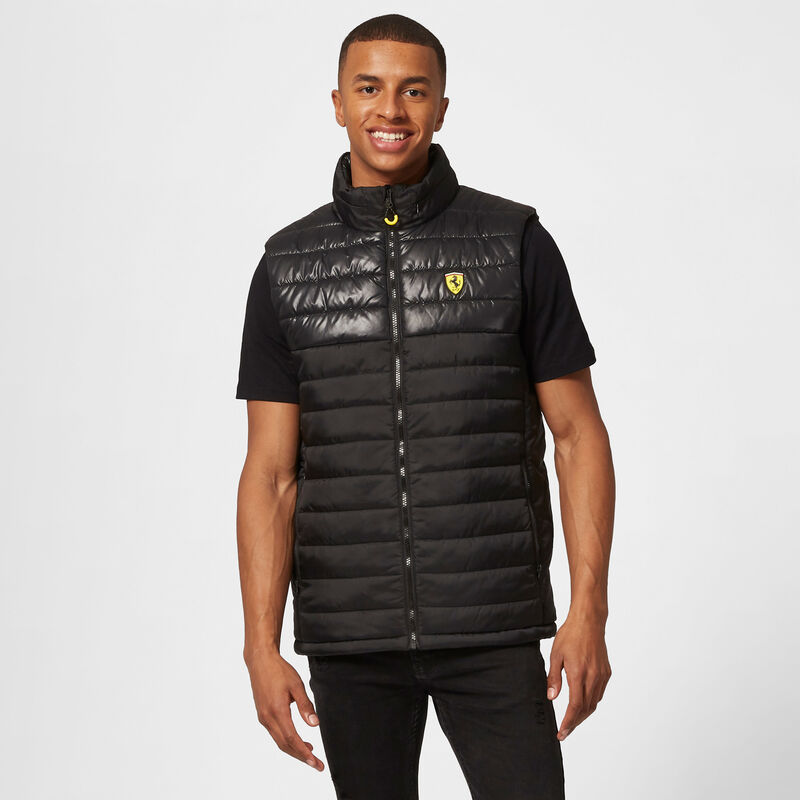 SF FW MENS PADDED GILET - black