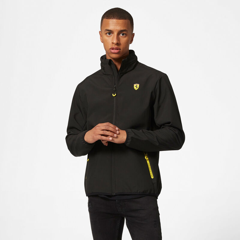 SF FW MENS SOFTSHELL JACKET - black