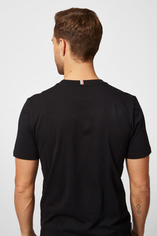 SF FW LARGE SHIELD TEE - black