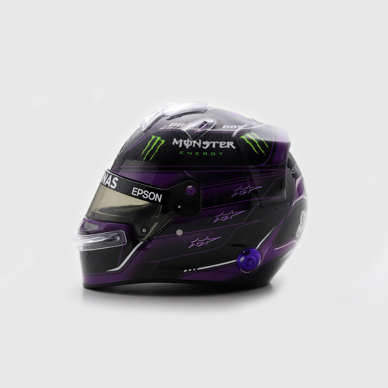 MAPF1 SL 1:5 MINI HELMET AUSTRIA 2020 NO44 - black