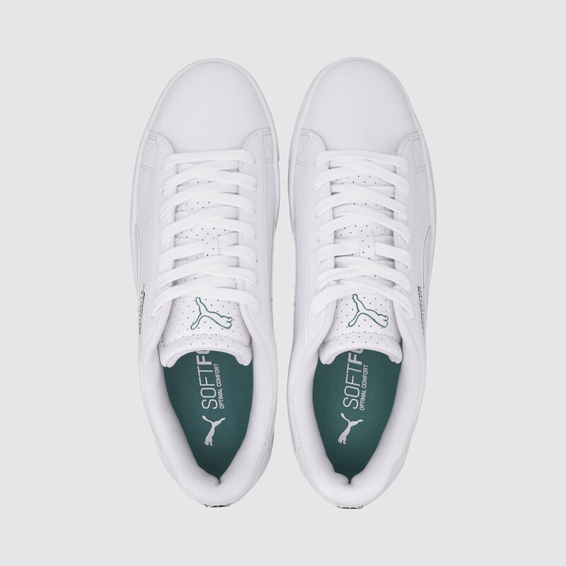 MAPM PU COURT BREAKER DERBY TRAINERS - white