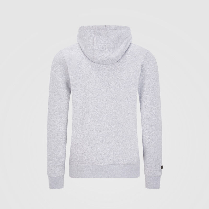 MAPM FW LOGO HOODED SWEAT - grey