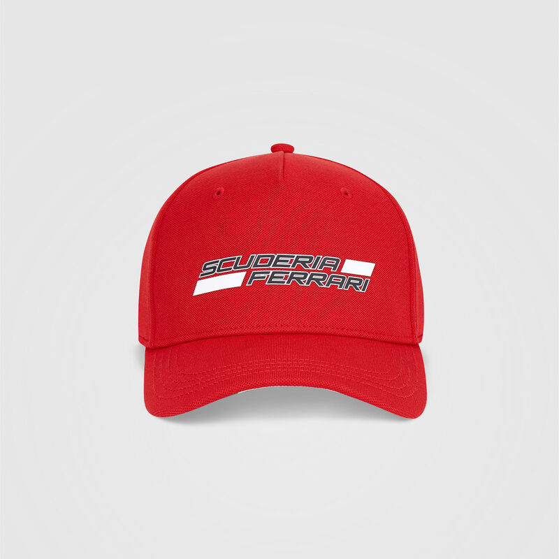 SF FW SCUDERIA LOGO BB CAP - red