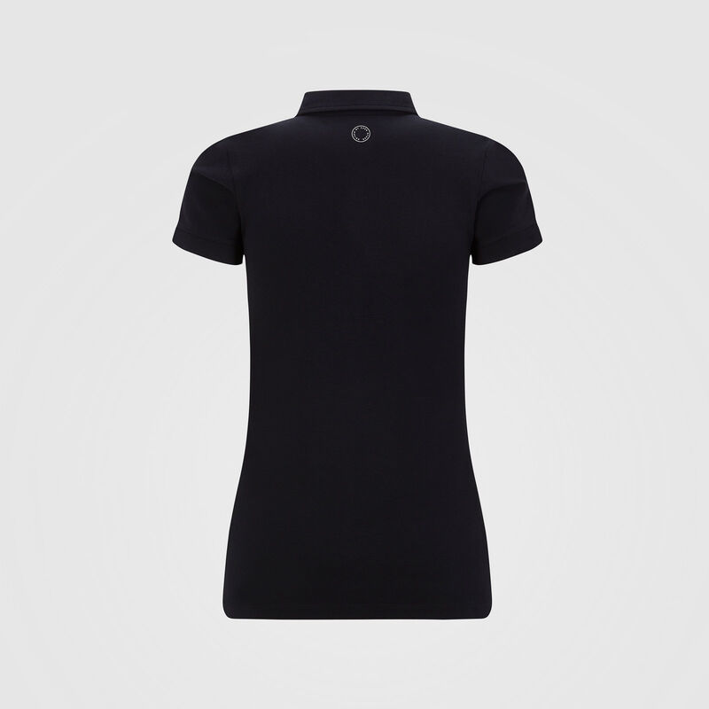 MAPM FW WOMENS CLASSIC POLO - black